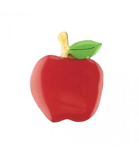 Woodland Garden - Red Apple Brooch