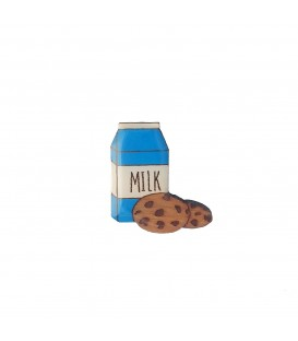 Milk and Cookies Lapel Pin