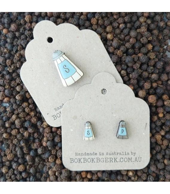 Salty Lapel Pin