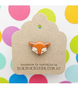 Fox Lapel Pin