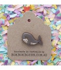 Whale Lapel Pin