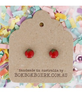 Vegetable Earrings - Tomatoes