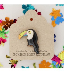 Toucan Lapel Pin