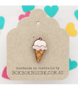 Icecream Lapel Pin