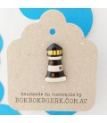 Lighthouse Lapel Pin - Black