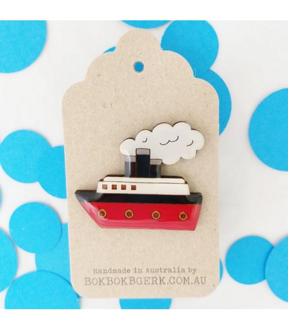 Ship Brooch