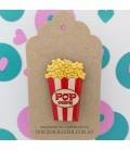 Popcorn Brooch
