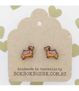 Sausage Dog Earring
