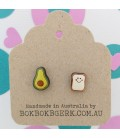 Smashed Avo on Toast Earrings