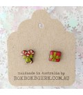 Christmas Candy Cane/Present Earrings