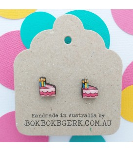 Birthday Cake Earrings