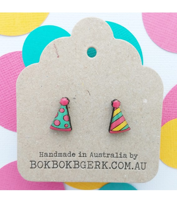 Party Hat Earrings