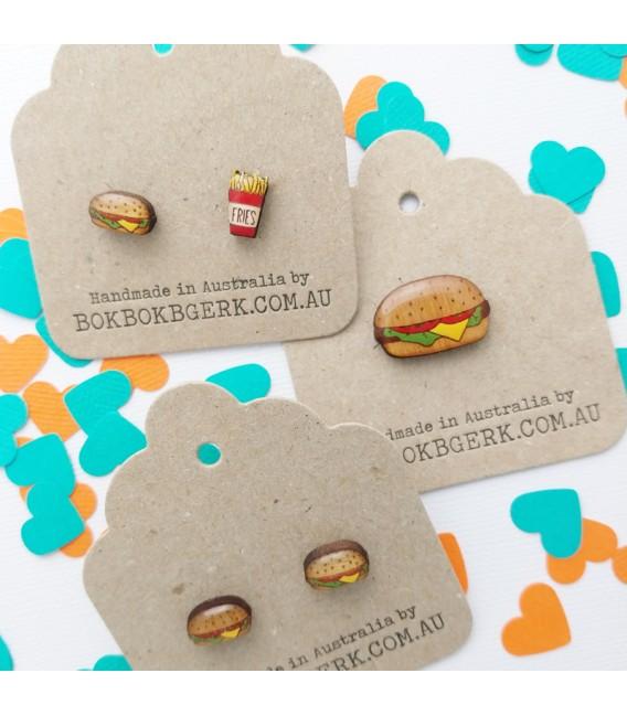 Hamburger Lapel Pin