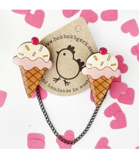 Icecream Cardigan Clips