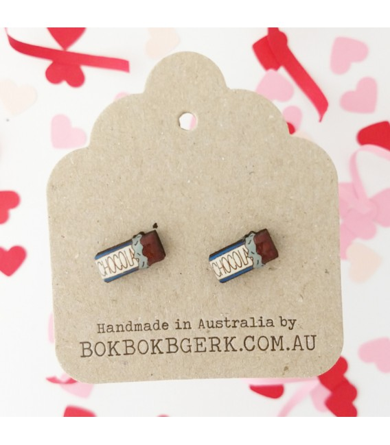 Chocolate Earrings