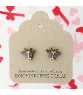 Loved Up Goat Earrings