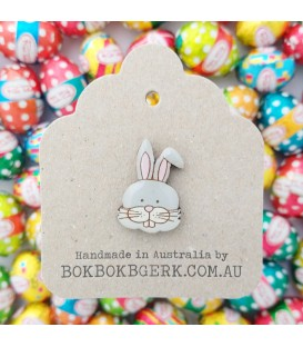 Easter Bunny Lapel Pin
