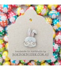 Easter Bunny Lapel Pin