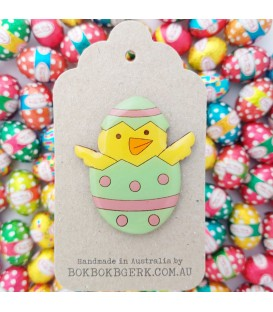 Easter Chicken Brooch