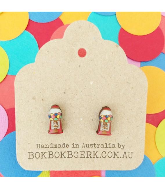 Gumball Machine Earrings