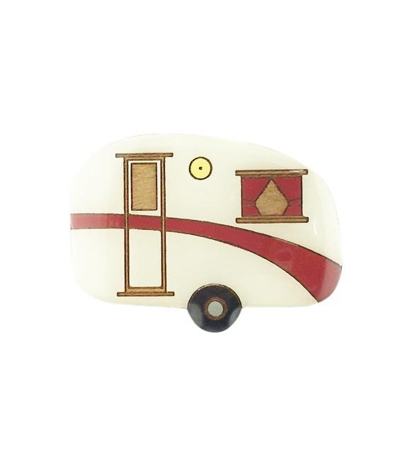 Caravan Brooch - Red (Limited Edition)
