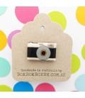 Camera Lapel Pin