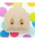 Pencil Earrings (Yellow)