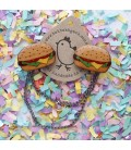 Hamburger Cardigan Clips