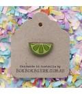 Fruity Lime Lapel Pin