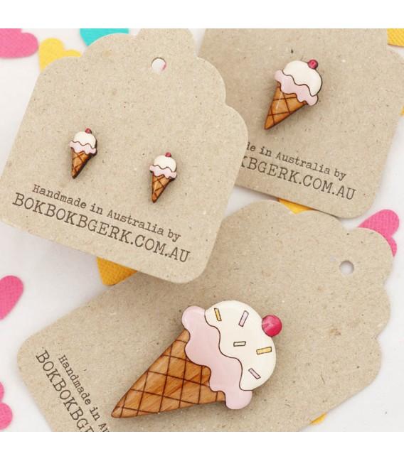 Ice cream Lapel Pin