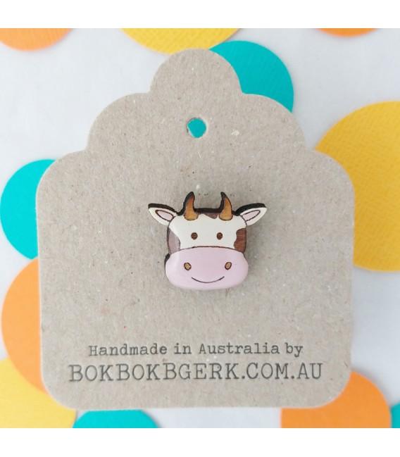 Cow Lapel Pin