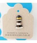 Lighthouse Lapel Pin - Black