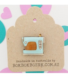 Crafternoon - Sewing Machine Lapel Pin
