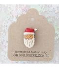 Christmas Santa Lapel Pin