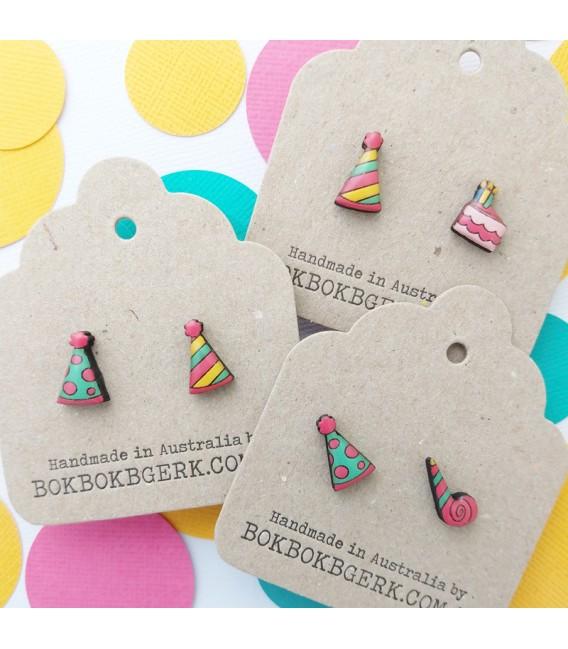 Birthday Cake Earrings