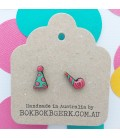 Party Hat and Whistle Earrings