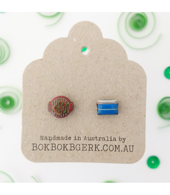 BBQ and Esky Earrings