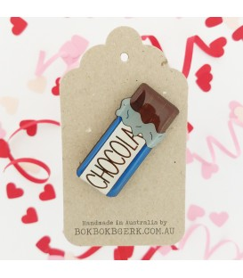 Chocolate Brooch