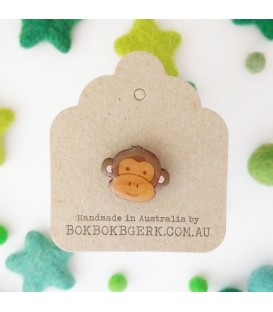 Monkey Lapel Pin