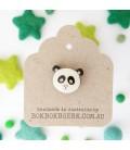 Panda Lapel Pin