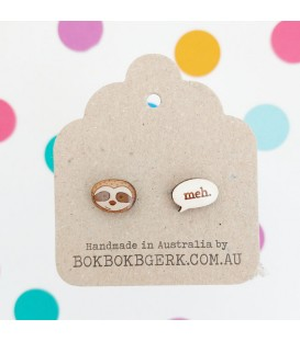 Sloth/Meh Earrings