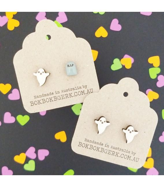 Ghost/RIP Earrings