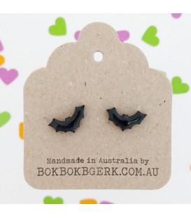 Bat Silhouette Earrings