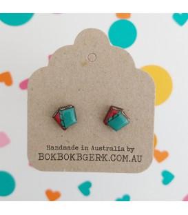 Matching Book Earrings