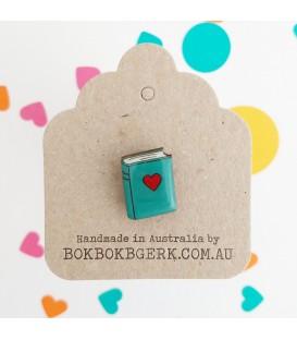 Book Lapel Pin